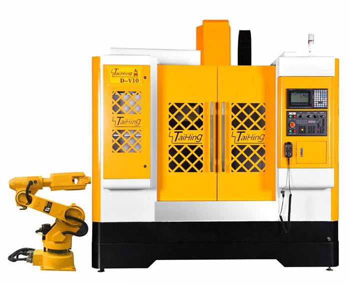 线轨机D-V10(三菱系统)—CNC1060三轴线轨机(高速高精密零件立式加工中心机)